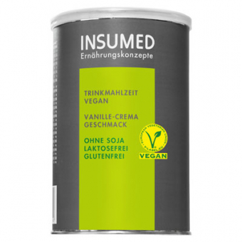 Produktabbildung 300 g Dose BASIC Trinkmahlzeit VEGAN Vanille-Crema