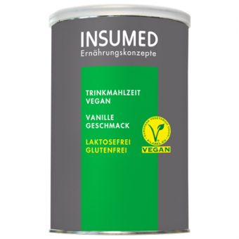 Produktabbildung 400 g Dose BASIC Trinkmahlzeit VEGAN Vanille