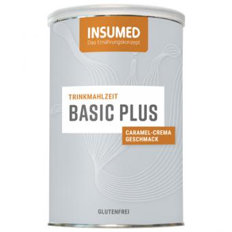 Produktabbildung 400 g Dose BASIC PLUS Trinkmahlzeit Caramel-Crema