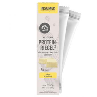Produktabbildung 2er Pack BESTFORM Protein-Riegel Lemon