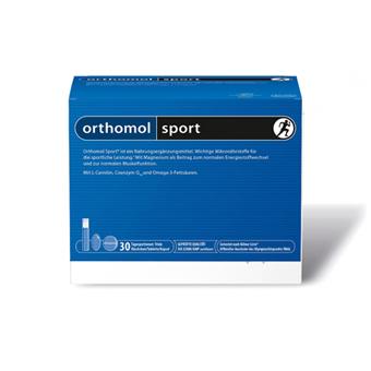 orthomol sport | Trinkfläschchen/Tabletten/Kapseln