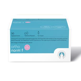 orthonorm f | Granulat plus